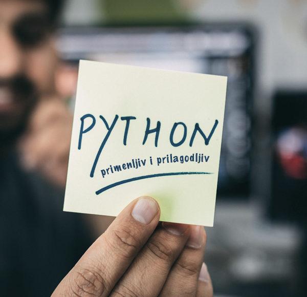 Python – primenljiv i prilagodljiv